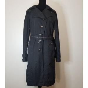 ARMANI JEANS black trench coat
